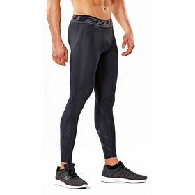 2XU Accelerate Compression Lange hardloopbroek Heren Long zwart